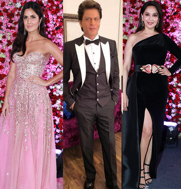 Lux Golden Rose Awards 2017 red carpet: Shah Rukh Khan, Madhuri Dixit, Katrina Kaif glam up the night – view HQ pics