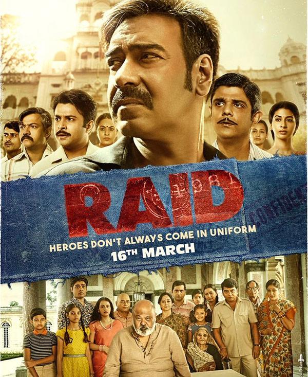 Image result for raid poster ajay devgan