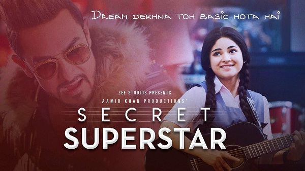 Aamir Khan's Dangal, PK and now Secret Superstar makes it to the top 5 all-time worldwide grossing films