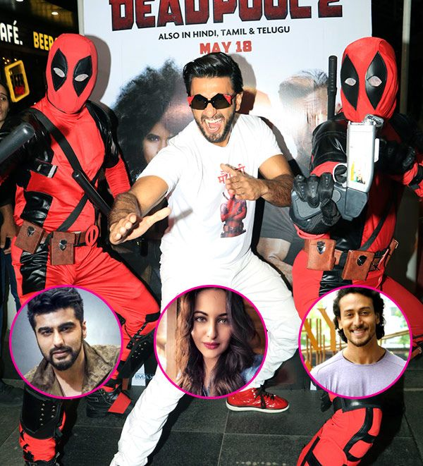 EXCLUSIVE! Deadpool 2: Ranveer Singh wants to have Arjun Kapoor, Sonakshi Sinha and Tiger Shroff in his X-Force – watch video