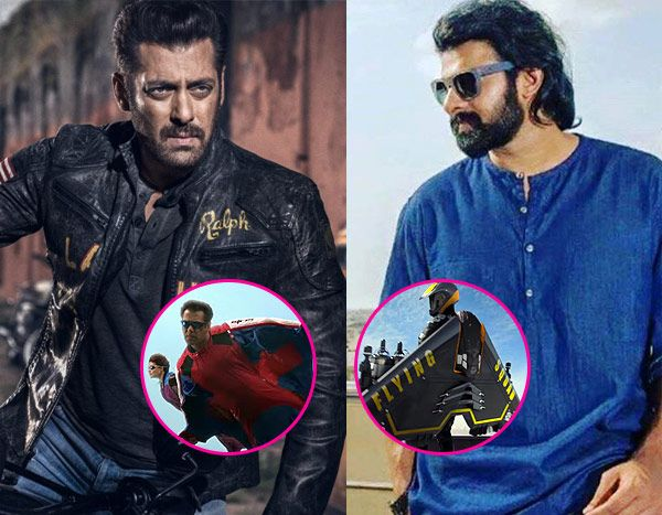 Salman Khan's stunt scene in Race 3 is so similar to Prabhas' scene in Saaho, that it cannot be missed