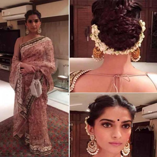 Saree Was The Outfit Of The Day For Sonam Kapoor View