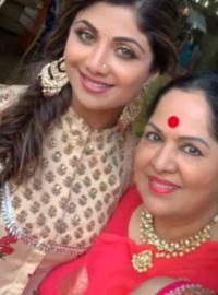 Shilpa Shetty Kundra and Sunanda Shetty