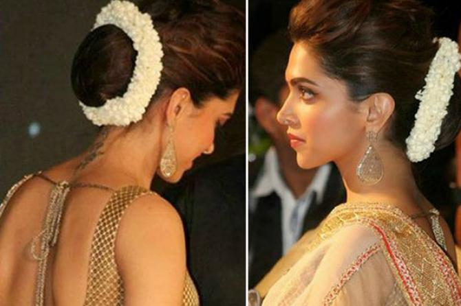 10 Gorgeous Gajra Hairstyles To Dazzle At Your Besties