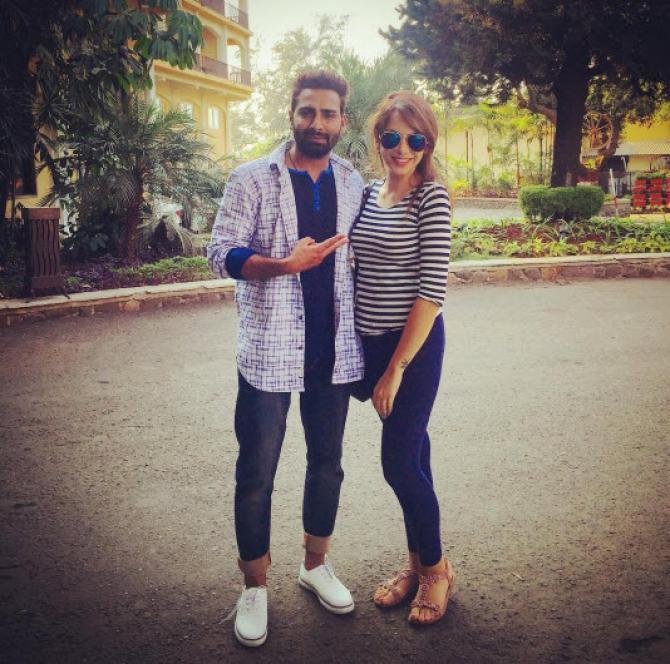 Nitibha Kaul and Manveer Gurjar