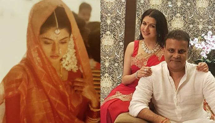 'Maine Pyar Kiya' Actress Bhagyashree's Unseen Throwback Picture As A Bride From Her Wedding