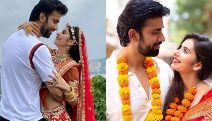Charu Asopa Accepts Her Hubby, Rajeev's Bengali Culture, Dresses As A Bengali Bride On Durga Asthami