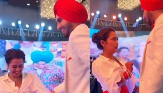 Neha Kakkar Teases Rohanpreet On Their Song, 'Nehu Da Vyah' Flaunting Her 'Chooda' And Bridal Glow