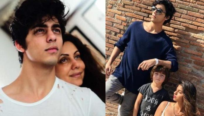 Gauri Khan Shares Picture Of Aryan Khan Posing With Suhana Khan And AbRam Khan On His 23rd Birthday