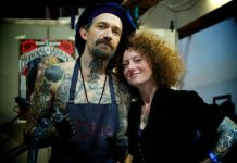 Filip Leu al Tattoo Expo di Bologna 2018