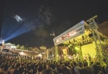 Una delle serate in concerto al Parco del Cavaticcio.