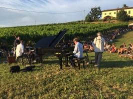 Uno dei concerti nelle vigne di Zola Predosa