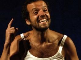 "Mario Perrotta in ""Italiani Cìncali!"""