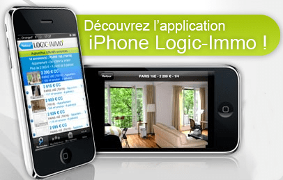 Logic-Immo sur iPhone