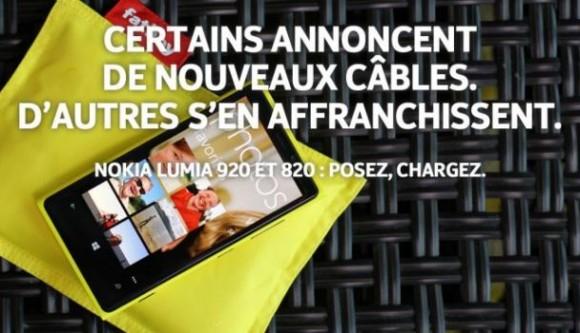 Publicité Nokia vs iPhone