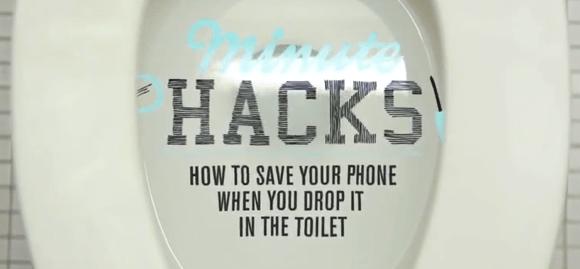 Comment sauver votre téléphone tombé dans les toilettes