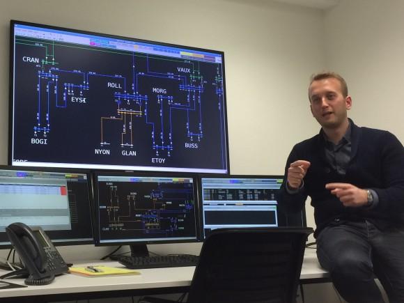 Romande Energie centre de contrôle