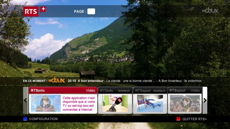 Swisscom TV 2.0 HbbTV