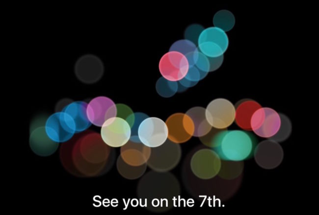 Apple Keynote 07.09.2016