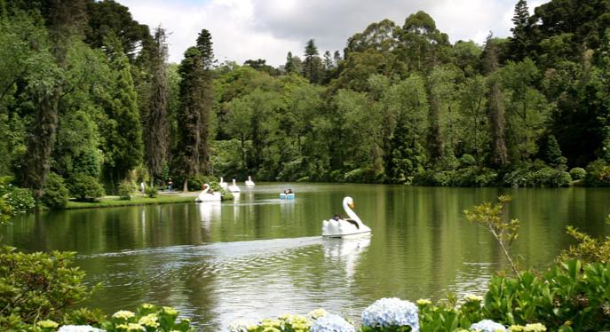 Foto do Lago Negro em Gramado