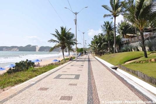 Calçada da Praia de Ponta Negra