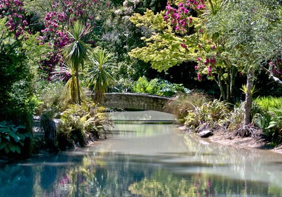 Christchurch Botanic Gardens em Nova Zelândia
