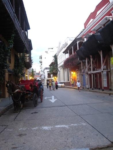 Cidade amuralhada, Cartagena de Índias, Colômbia