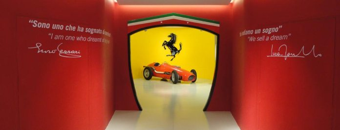 Foto Museu Ferrari na Itália