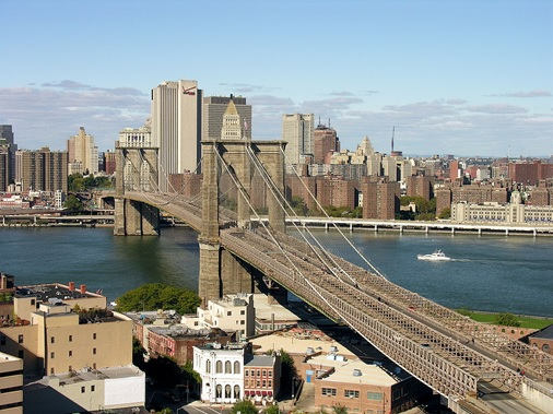 Foto do Brooklyn Bridge