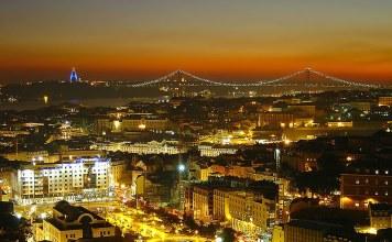 Lisboa em Portugal
