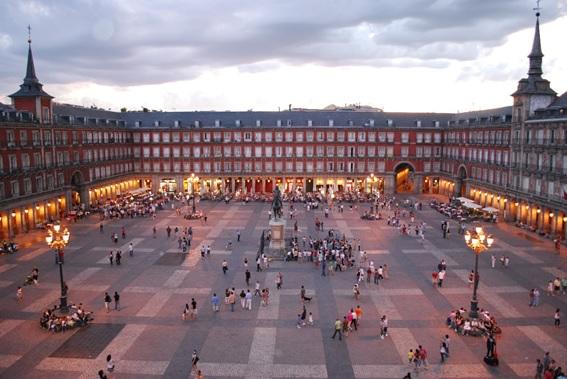 Lua de mel em Madrid