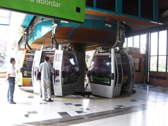 Metrocable, Medellín, Colômbia