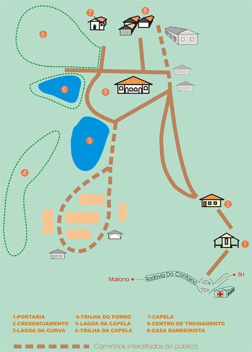 Parque do Itacolomi em Lavras Novas
