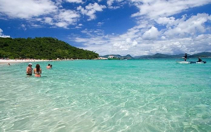 Praia do Campeche é uma das melhores praias de Florianópolis