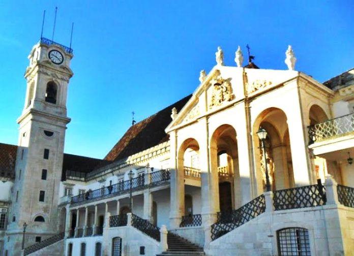 Universidade de Coimbra em Portugal