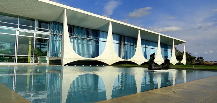 Palacio da Alvorada em Brasilia