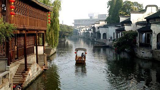 Passeio à Nanxun, a Veneza de Shanghai