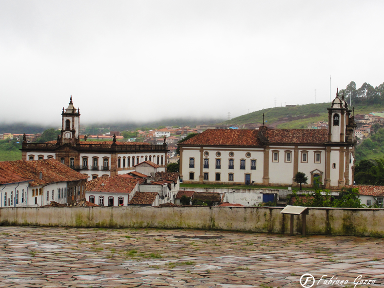 A arquitetura historica de Ouro Preto