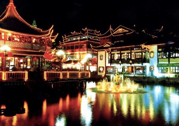 Comemorar o ano Chinês em Shanghai