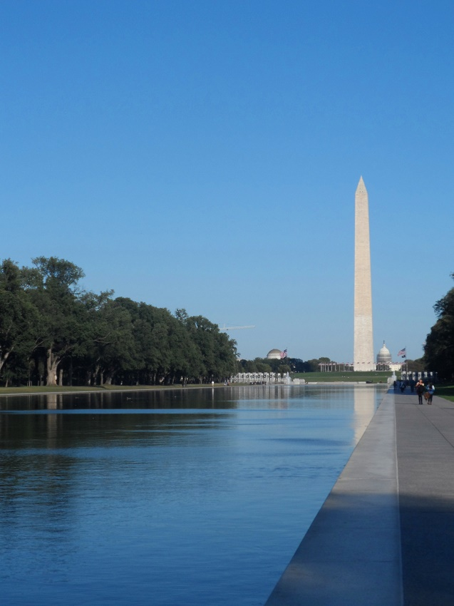 Foto do Washington Monument em Washington