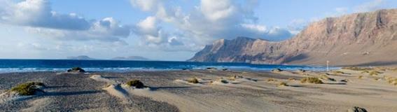 Lanzarote nas Ilhas Canárias