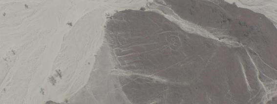 Linhas de Nazca desenho do Astronauta