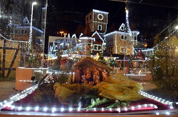 Weihnachtsdorf em Blumenau
