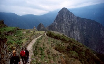 fazendo a trilha inca