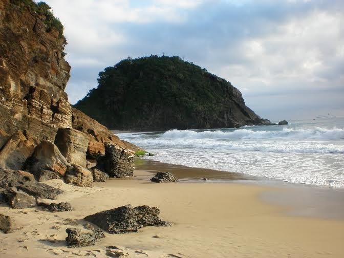 Praia do Morcego em Itajaí