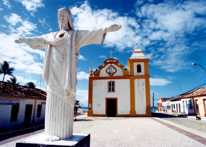 Igreja de Nossa Senhora da Ajuda em Arraial d'Ajuda