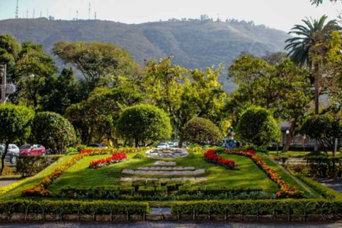 Calendário Floral, na Praça Elisiário Junqueira