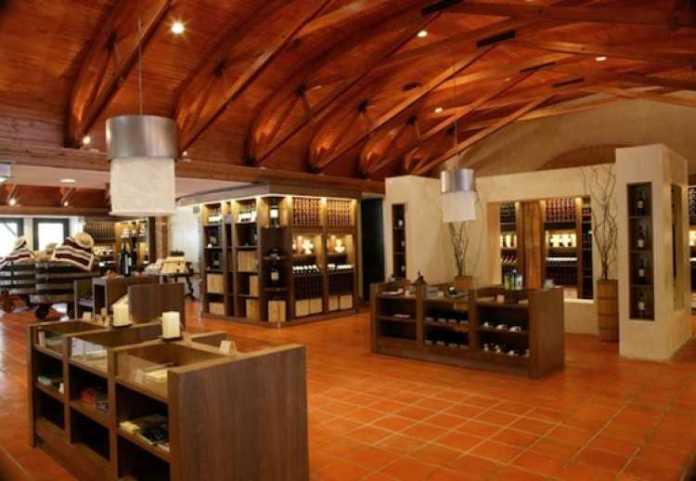 Loja da vinícula Concha y Toro