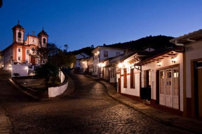 Cidade de Ouro Preto em Minas Gerais é um dos lugares mais lindos para se conhecer