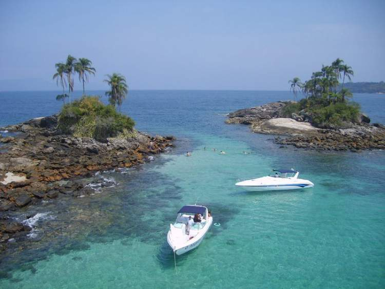 Ilha de Cataguases e Ilha do Peregrino em Angra dos Reis – Rio de Janeiro